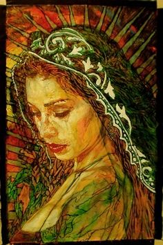 Green Madonna by George Yepes