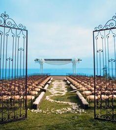 Wedding site in Rancho Palos Verdes, California