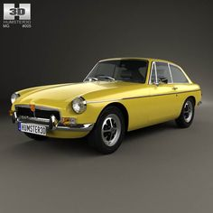 MG MGB GT V8 1973 3d model from humster3d.com. Price: $75