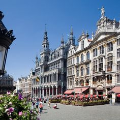 Belgium, Brussels - Grote Markt (in English: Grand Market).