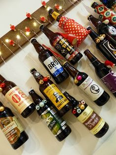 The Glass Sandwich: ADVENTures in Craft Part 2 - Craftvent Calendar 2015 Craft Beer Advent Calendar, Wine Rack, Adventure, Glass, Diy, Crafts, Decor, Stocking Stuffers, Manualidades