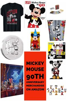Can you believe Mickey Mouse is 90 years old? And who doesn't just love Mickey Mouse. To celebrate there is a ton of really fun merchandise out there. Disney Facts, Disney Tips, Disney Fun, Disney Style, Disney Magic, Walt Disney, Disney Travel, Disney Souvenirs, Disney Vacation Club
