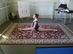 Ballet stretches for turnout,  Specific stretch and strengthening for classical ballet.