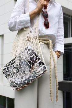 Because sometimes a womans bag can be simple and beautiful