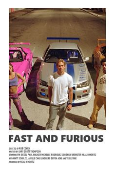 Iconic Movie Posters, Minimal Movie Posters, Iconic Movies, Good Movies, Fast And Furious, Series Poster, Tv Series, Films Récents, Film Polaroid