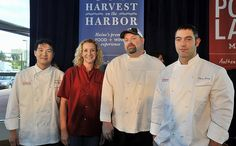 Jon Gaboric and Chris Long of Natalie's, Shanna O'Hea of Academe, and Brandon Blethen of Robert's Maine Grill will compete for Lobster Chef of the Year during the 2013 Harvest on the Harbor | The Portland Press Herald