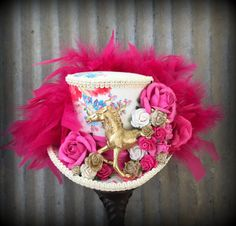 ba883b1caf4d2 RESERVED FOR HOLLYWOODKentucky Derby Fascinator Horse by ChikiBird Kentucky  Derby Fascinator