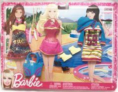 Barbie Fashion Pack - Malibu Beach Time 2012