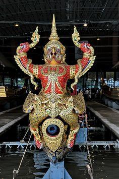 Royal Barge National Museum in Bangkok, Thailand Visit Thailand, Bangkok Thailand, Thailand Travel, Culture Of Thailand, Scuba Diving Thailand, Thailand Fashion, Thai Design, Thailand Adventure, Thai Art
