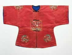 Child's surcoat with third rank badge Viet Nam, Nguyen dynasty, circa 1825 embroidered silks, 79.0 x 53.5 cm Gift of Judith and Ken Rutherford 2005 Art Gallery of New South Wales, Sydney, 106.2005