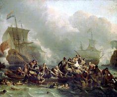 Ludolf Bakhuysen - Zeeslag bij Texel, 11 August 1673