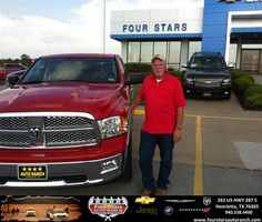 #HappyAnniversary to Jeff Pendley on your 2012 #Ram #1500 from Mark Havens at Four Stars Auto Ranch!