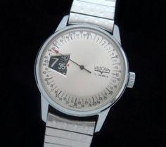 Men's 1960 Vulcain Wristwatch with Box | Strickland Vintage Watches