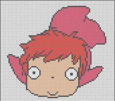 Ponyo Cross Stitch Patterns
