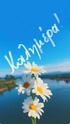 Greek Language, Beautiful Pink Roses, Good Morning Good Night, Morning Quotes, Beautiful Images, Spirituality, Positivity, Emoji, Mountains