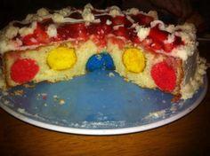 Hidden Easter egg cake