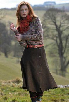 Amanda happiness fashion, english country fashion и tweed sk Modest Outfits, Modest Fashion, Fall Outfits, Fashion Outfits, Womens Fashion, Fashion Fashion, Fashion Trends, English Country Fashion, Irish Fashion