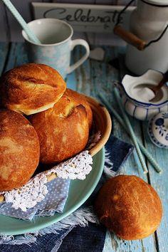 ~ KRUMPLIS BUCI ~ French Toast, Pancakes, Yummy Food, Bread, Baking, Breakfast, Morning Coffee, Delicious Food, Brot