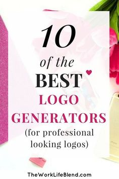 Logo generators are a total life saver when it comes to creating your own logo for your fantastic business!! There are lots of brilliant business logo generators online, most of them free. These online generators bring together colour, fonts, graphics and styles and generate your perfect logo depending on the preferences you select. #logodesign #logos #branding How To Make Logo, Create A Logo, How To Start A Blog, How To Make Money, Create Your Own, Logo Design, Web Design, Identity Design, Design Basics