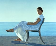 Penelope, 1980 by David Ligare. Hyper-Realism. literary painting