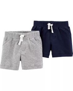Carters Cuffed Pull-On Shorts Boys