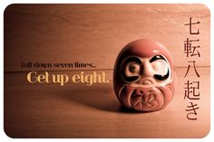 Sr. Daruma by Mari Vass, via Flickr