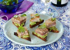 Disse hapsere med tun smager skønt, og vil uden tvivl hurtigt forsvinde fra tallerkenerne