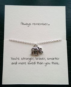 Silver elephant necklace, best friend, friendship necklace, friendship charm, thin necklace, small elephant, birthday gift, gift for friends