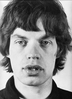 Mick Jagger by Jean-Marie Perrier