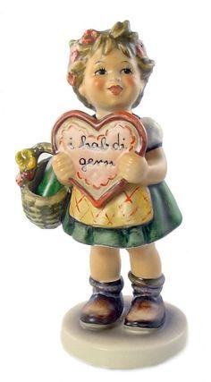 Hummel Club Valentine Gift Hummel Figurine 387