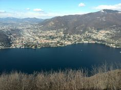 Panorama sul Lago di Como Italy ( da Brunate)
