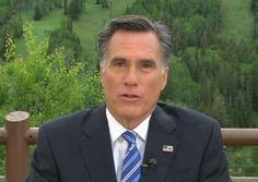 While Lying Through His Teeth Mitt Romney Calls Hillary Clinton Clueless