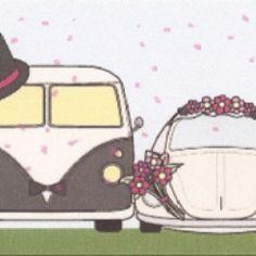 V-dub wedding day