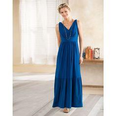 Voyager Knit V-Neck Maxi Dress, TravelSmith