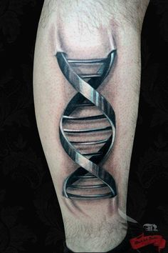 3D DNA Tattoo