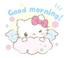 "sticker-yu: ""Hello Kitty: Baby Angel // sanrio "" i saw an angel when i first saw you ⭐️"