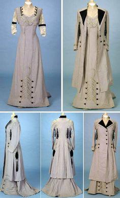 les 11524 meilleures images du tableau inspiration for - Edwardian Fashion Edwardian Clothing, Edwardian Dress, Antique Clothing, Edwardian Era, 1900s Fashion, Edwardian Fashion, Vintage Fashion, Belle Epoque, Historical Costume