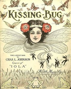 'The Kissing Bug' sheet music cover from 1909