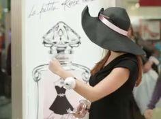 L ' évènement du 8 Mars 2012 ,pour le lancement de La Petite Robe Noire de Guerlain, à Paris....Elle est de partout dans la Capitale .....