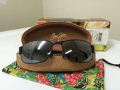 nice Maui Jim Men's Black Coral Sunglasses