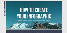 5 Sites you can use to easily create infographics.