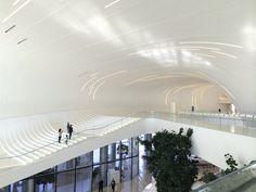 Azerbaijan. Heydar Aliyev Cultural Center