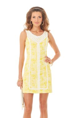 #2 - only buy if its $60 or less - MacFarlane Lace Detail Shift Dress, originally $198