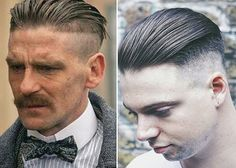 How to style The Peaky Blinders hair cuts
