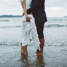 What You Really Need To Know About Wedding Dresses For A Beach Wedding - Pretty Bride Now Beach Wedding Photos, Beach Wedding Photography, Wedding Poses, Wedding Shoot, Wedding Dresses, Wedding Ideas, Wedding Beach, Beach Weddings, Wedding Vendors