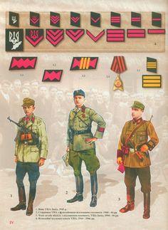Ukrainian uniforms in WW2.
