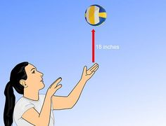 How to Serve a Volleyball Overhand: 19 steps - wikiHow