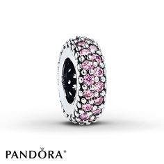 Tranquil purple cubic zirconias encircle the center of this sterling silver spacer from the PANDORA Spring 2015 collection. Pandora Beads, Pandora Jewelry, Pandora Charms, Pandora Sale, Jewelry Shop, Jewellery, Sterling Silver Jewelry, Silver Ring, Inspiration