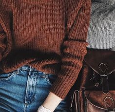 ♡can't wait for sweater weather Looks Street Style, Looks Style, Looks Cool, Style Me, Fall Winter Outfits, Autumn Winter Fashion, Winter Stil, Winter Mode, Inspiration Mode
