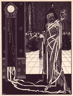 Harry Clarke, Illustrations for E. A. Poe Tales of Mystery and Imagination by Poe, illustrated by Harry Clarke (Ireland, 1889 - 1931)